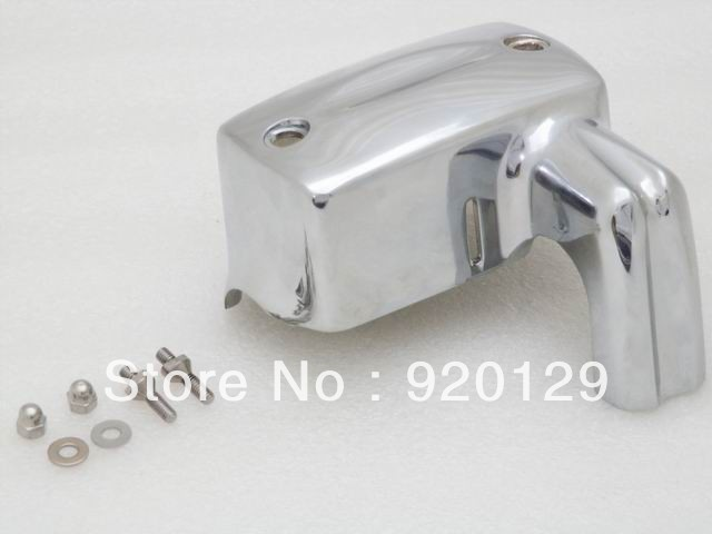 Chrome Master Cylinder Cover Honda Shadow 600 VT 750 1100 1300 VTX - guangzhou quality motorcycle parts Co.,ltd. store