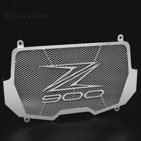 Bjmoto New Arrived For Kawasaki Z900 2017 Motorcycle Stainless Steel Radiator Guard Cover Protector Blue Color