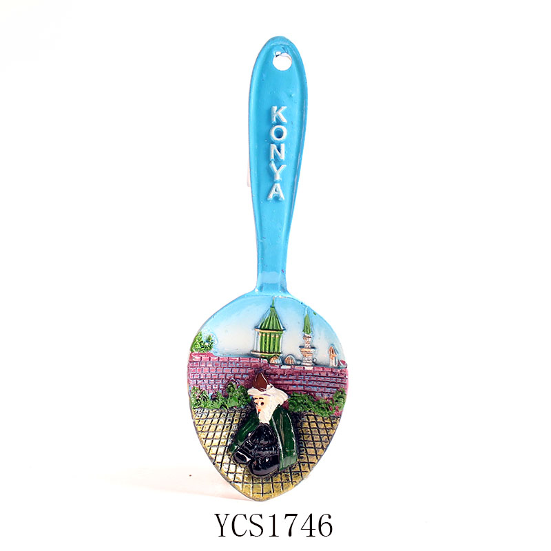 Fridge magnet konya turkey domanic public spoon shape ...