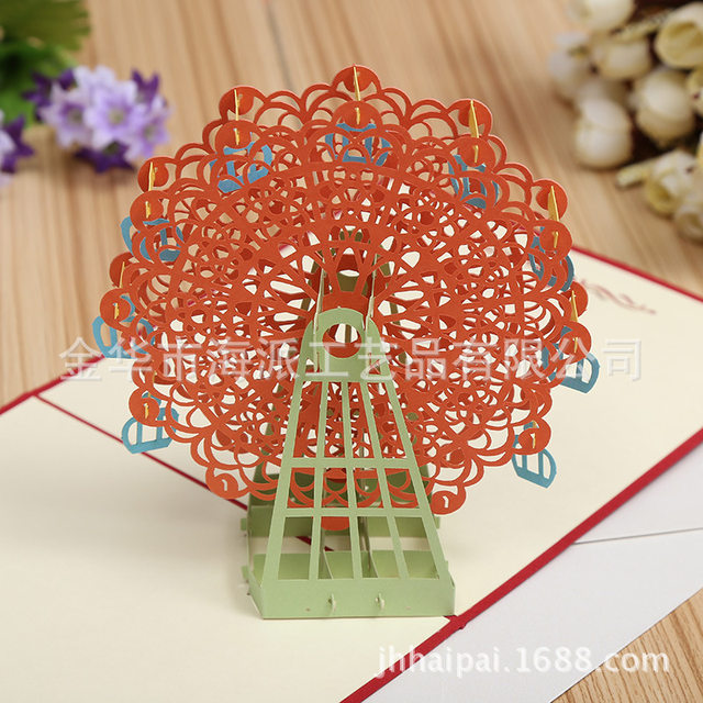 Online shop factory direct ferris wheel stereo creative company factory direct ferris wheel stereo creative company anniversary invitation cards out to sample customization stopboris Gallery