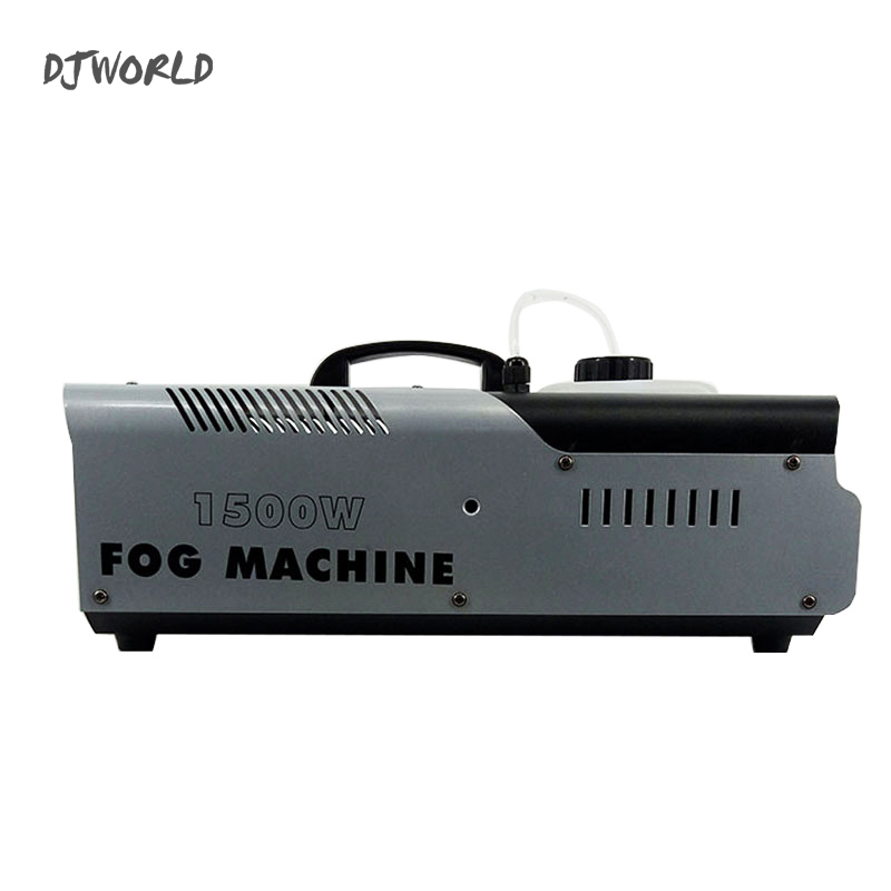 2pcs/lot 1500W Smoke Machine Stage Fog For Remote And Wire Control And DMX512 Control Party Wedding Christmas Stage