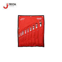 Jetech professional 1 set double ended ring spanner sets industrial gagrage automative double box wrench kits repair tools Cr.V