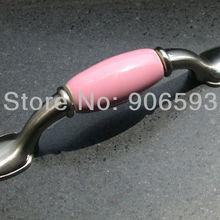 4 шт в партии розовый красивый кухонный шкаф рукоятки и ручки