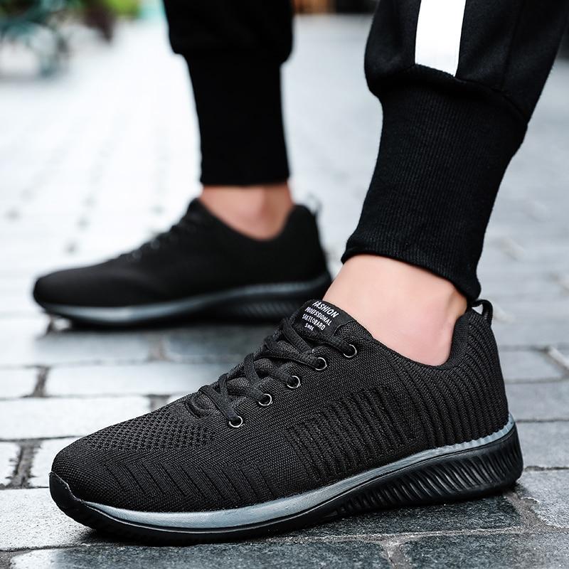 Feminino Caminhada Preto Respirável De vermelho Tênis up Novos Zapatos Malha Homens Casuais Leves Lac 2019 Tenis cinza Confortáveis Sapatos branco ZfRwqvnnF