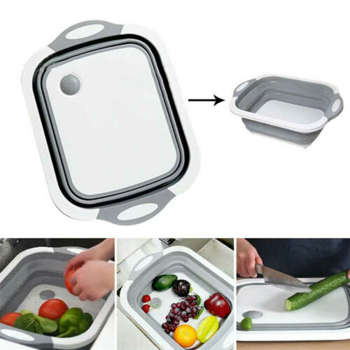 4-IN-1 MULTI-BOARD DAYVION - High Quality No More Tools 2019 New Free Ship Baskets Folding Vegetable Basket