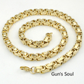 55CM*7MM Gold chain necklace, gold chain link necklace, chunky gold chain necklace, thick gold chain necklace LN197
