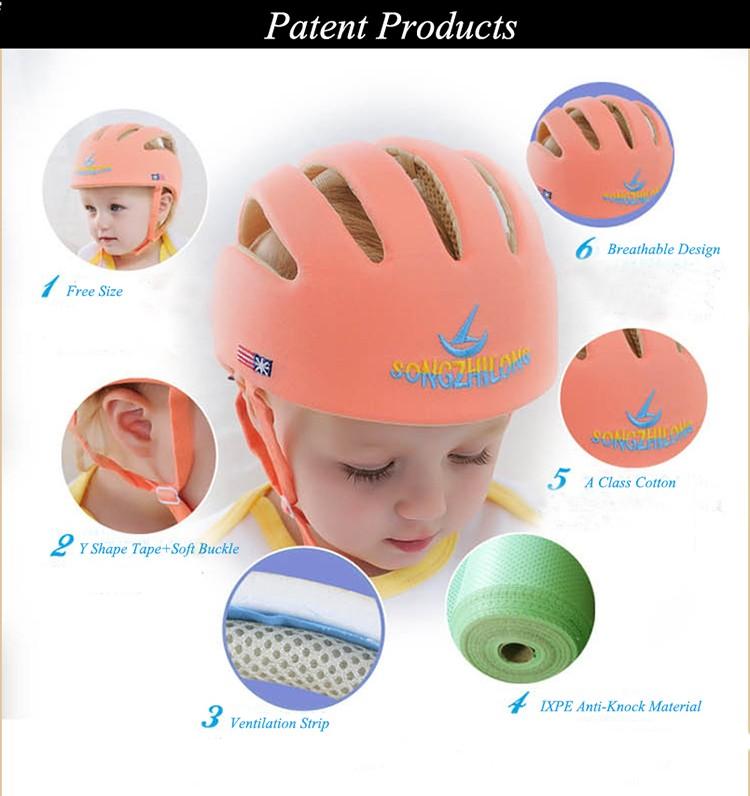 Safety Equipment Useful 2019 Brand New Infant Baby Safety Helmet Head Protection Toddler Kids Adjustable Soft Head Guard Cap Animal Ventilate Safety Hat A Complete Range Of Specifications