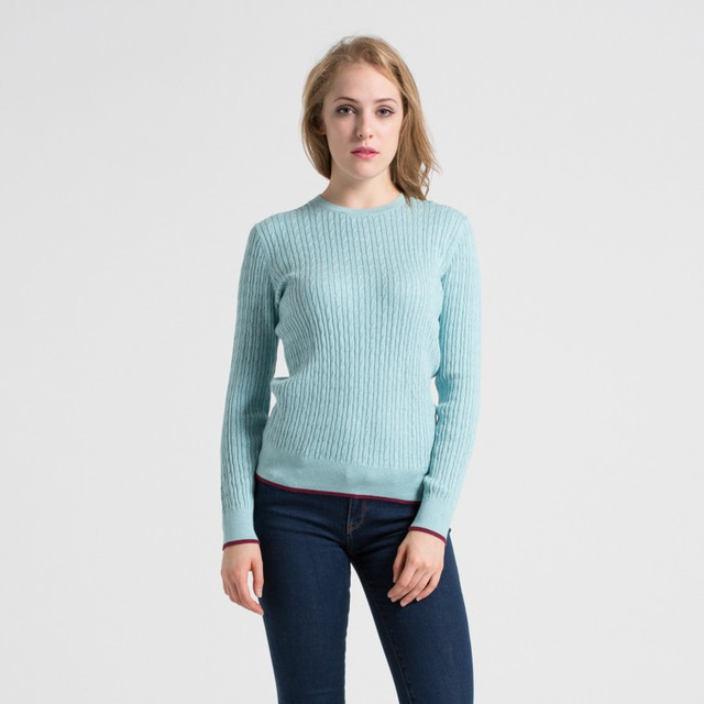 High Quality 2017 Spring Fashion Women O Neck Knit Candy Color Sweater Outerwear Pullover Tops Knitted Cashmere Sweater Women