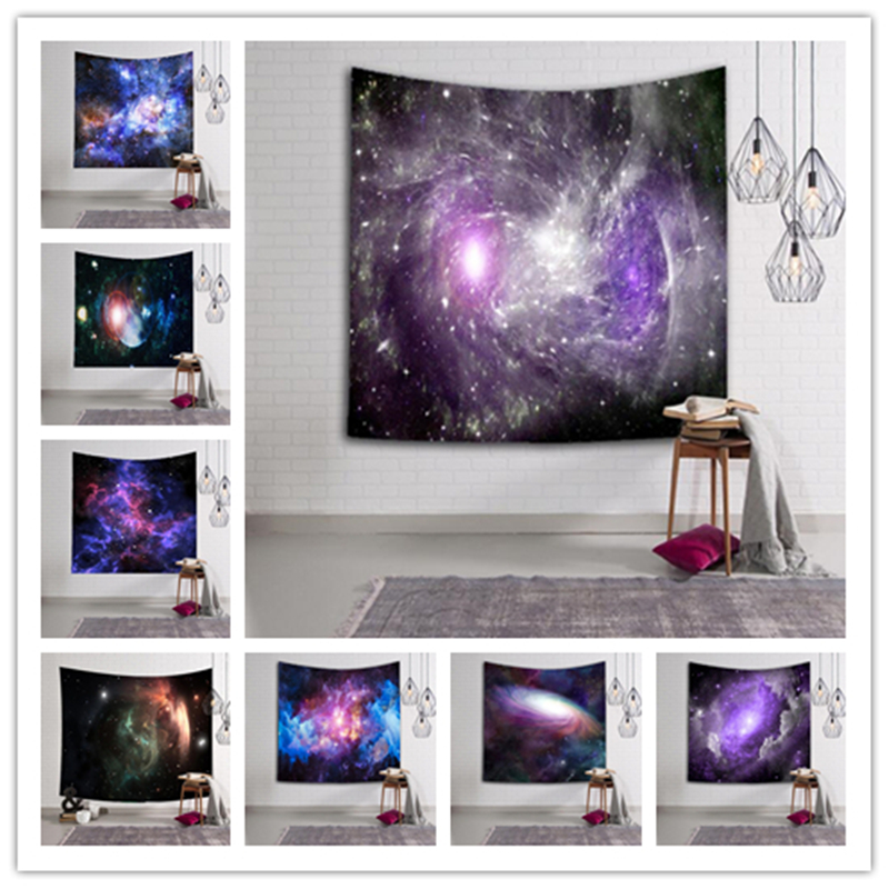 Large Size Sky Galaxy Wall Hanging Tapestry 150*130CM Bedspread Beach Yoga Mat Shawl Bath Towel Picnic Blanket Home Party DecorLarge Size Sky Galaxy Wall Hanging Tapestry 150*130CM Bedspread Beach Yoga Mat Shawl Bath Towel Picnic Blanket Home Party Decor