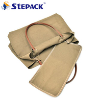 Minimalist Large Capacity Portable Shoulder Bag Casual Canvas Package Vogue Simple Design Single Litchi Grain Laptop