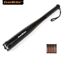 Everbrite бейсбольная бита светодиодный фонарик 2000 люменов дубинка фонарик для самообороны безопасности кемпинг свет