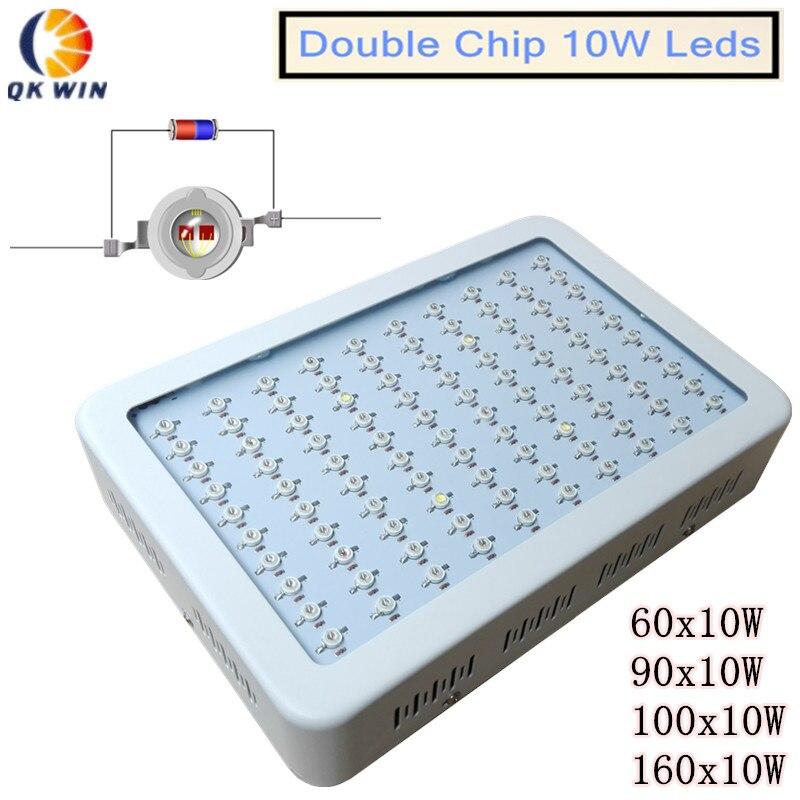 Здесь продается  double chip 10W led plant grow light 1000W/600W led grow light dropshipping  Свет и освещение