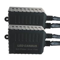 2pcs led H7 anti Flicker Error Free LED Canbus Decoder for LED Car Headlight Bulb Kits for SUV Fog Lamps H7 Adapter Anti Flsh