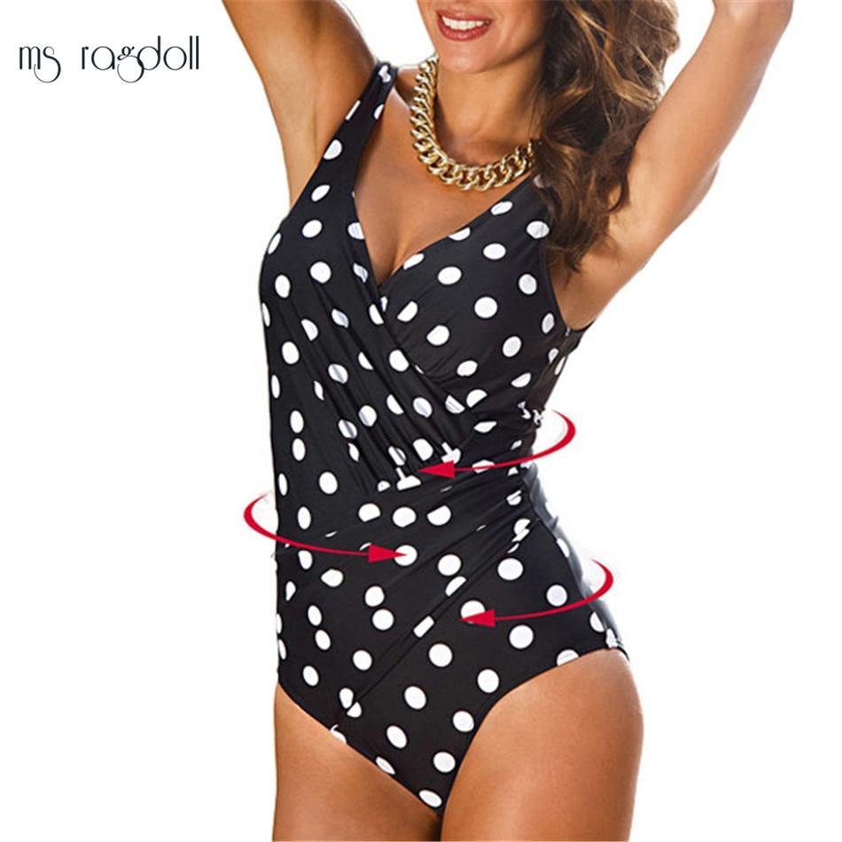 Plus Size Լողազգեստներ Կանայք 1 Մի կտոր - Սպորտային հագուստ և աքսեսուարներ - Լուսանկար 3