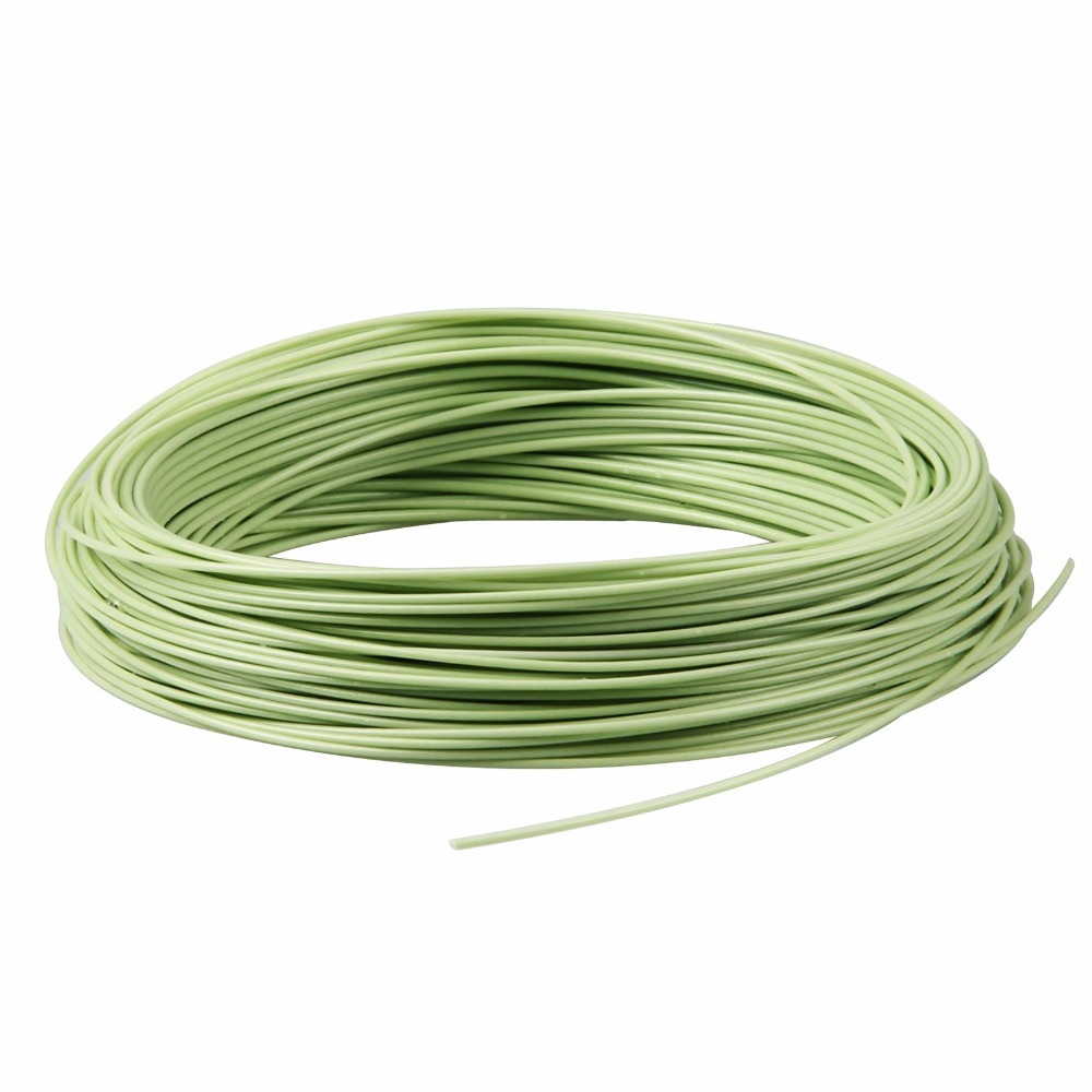 WF 2/3/4/5/6/7/8/9F 100FT Fly Line Green/Orange/Blue/Yellow Weight <font><b>Forward</b></font> Floating Nylon Fly Fishing Line
