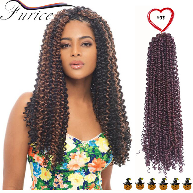 New Premium Deep Wave Synthetic Hair Extension Curly Weave Jerry Curl Crochet Water Braids