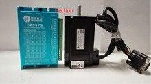 Новый Leadshine 300 Вт 2-фазный легко сервопривод HBS57S + 60HBM30-1000 работать на 48В выход 6А ток датчика 1000 линии 3NM выход