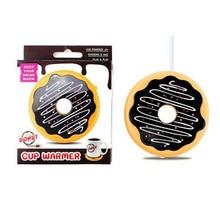 Original USB Doughnut Cup Warmer Heat Beverage Mug Mat Keep Drink Warm Heater Mugs Coaster