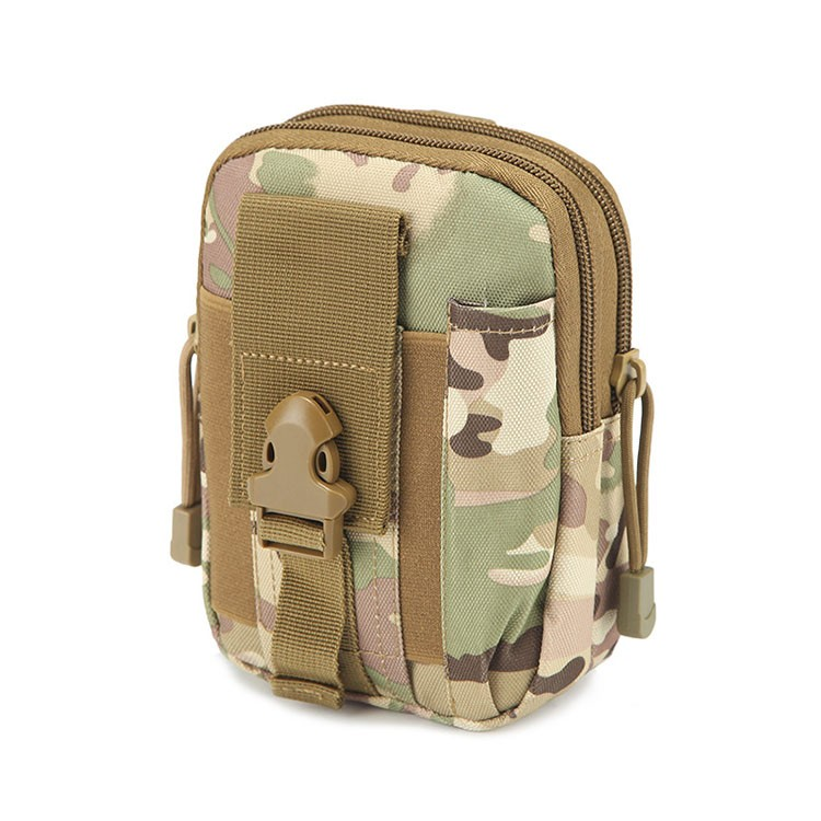Tactical Universal Holster Military Molle Hip Waist Belt Bag Wallet Pouch Purse Phone Case With Zipper Waterproof Wear-resistant