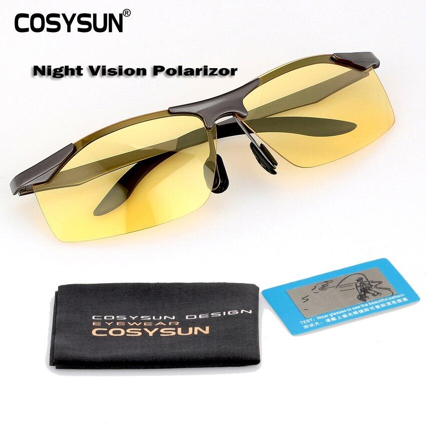 COSYSUN Goggles Polarized Sunglasses Driving glasses
