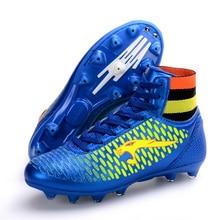 3 colores EUR 33-44 superfly zapatos de fútbol botas de fútbol marca de diseño para hombres mujeres botas de futbol de especialidad botas botines de fútbol