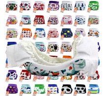 Free shipping Gladbaby 2016 new printing cloth diapers Diaper Cover Wrap nappies leak-pocket diapers pouches with velrco