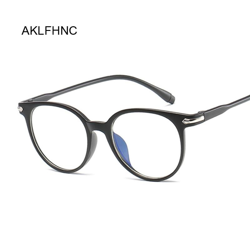 Vintage Cat Eye Oval Clear Glasses Women Transparent Lens Glasses Frame Ladies Optical Eyeglasses Frame Unisex Gift