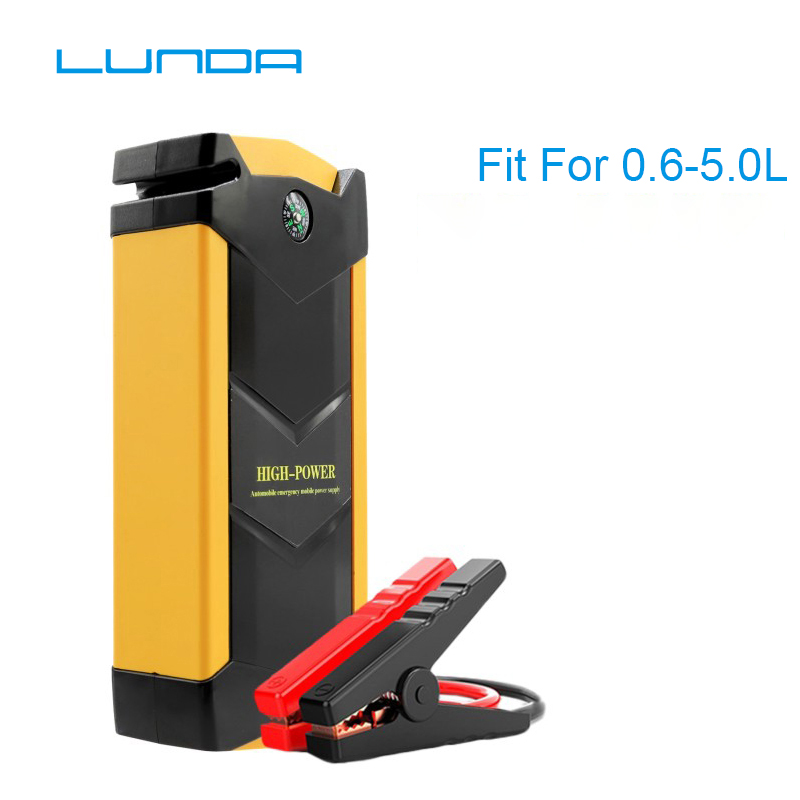 LUNDA 19A Car jump starter Great discharge rate Diesel power bank for car Motor vehicle booster start jumper battery high power цена
