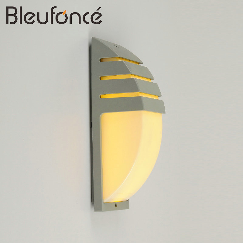 Outdoor Waterproof LED Wall Lamp 20W LED AC85-265V Light Lighting Garden Lights Modern Wall Sconce Waterproof Wall Lamp 6w 1 new product 2pcs lot ac 85 265v outdoor stone wall lighting led lamp hot sale led waterproof outdoor wall lamp