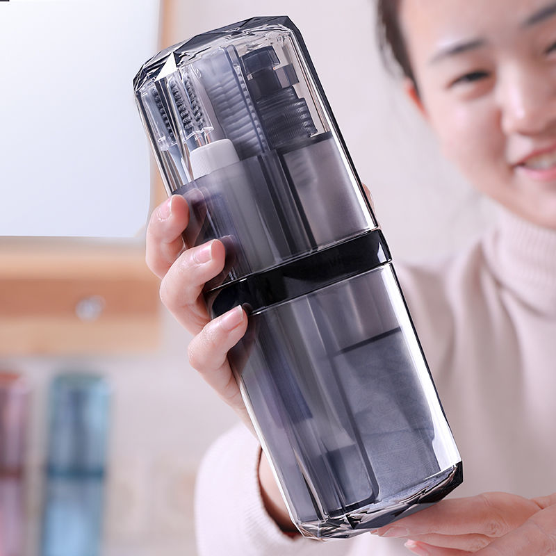 Travel Portable Sets Toothbrush Cup Tumblers Holder PP  Gargle Cups Unisex Business Toothpaste Tooth Brush Towel Accessories
