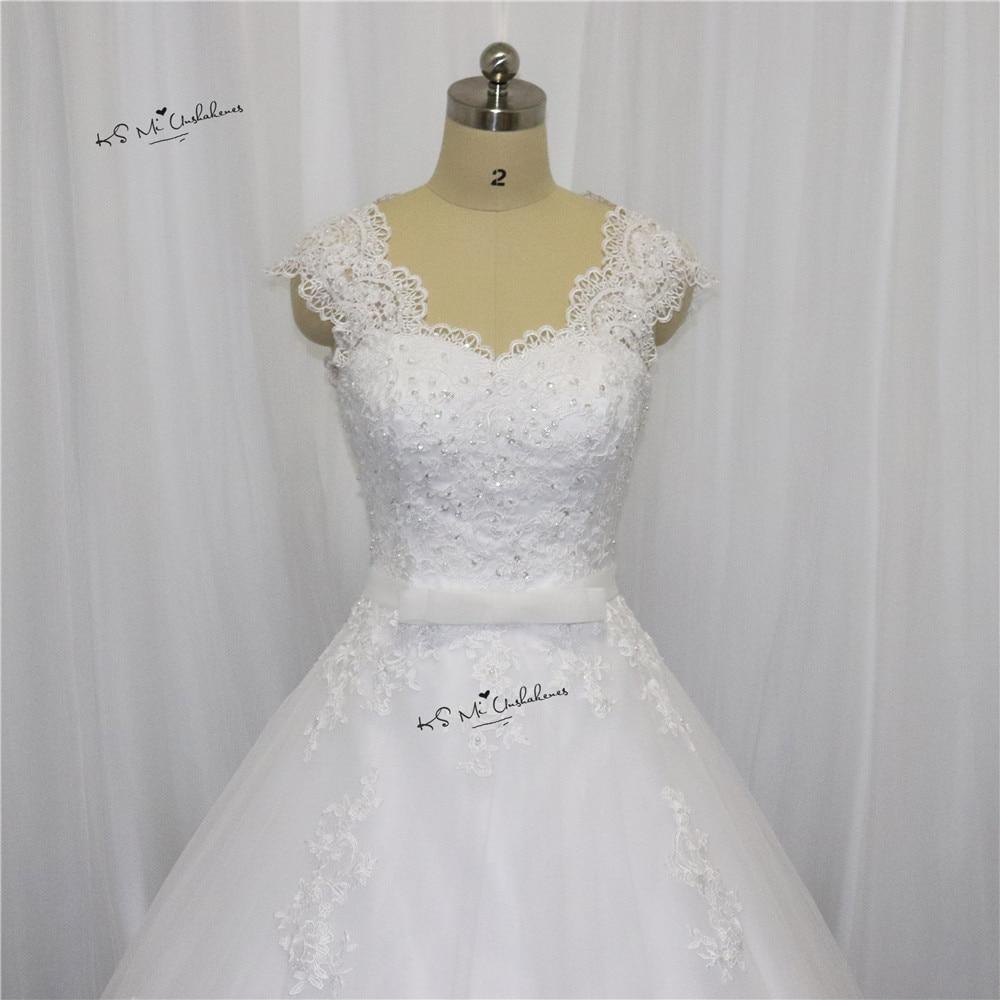 Vestido de Noiva Com Renda Prinzessin Hochzeitskleid 2017 Spitze ...