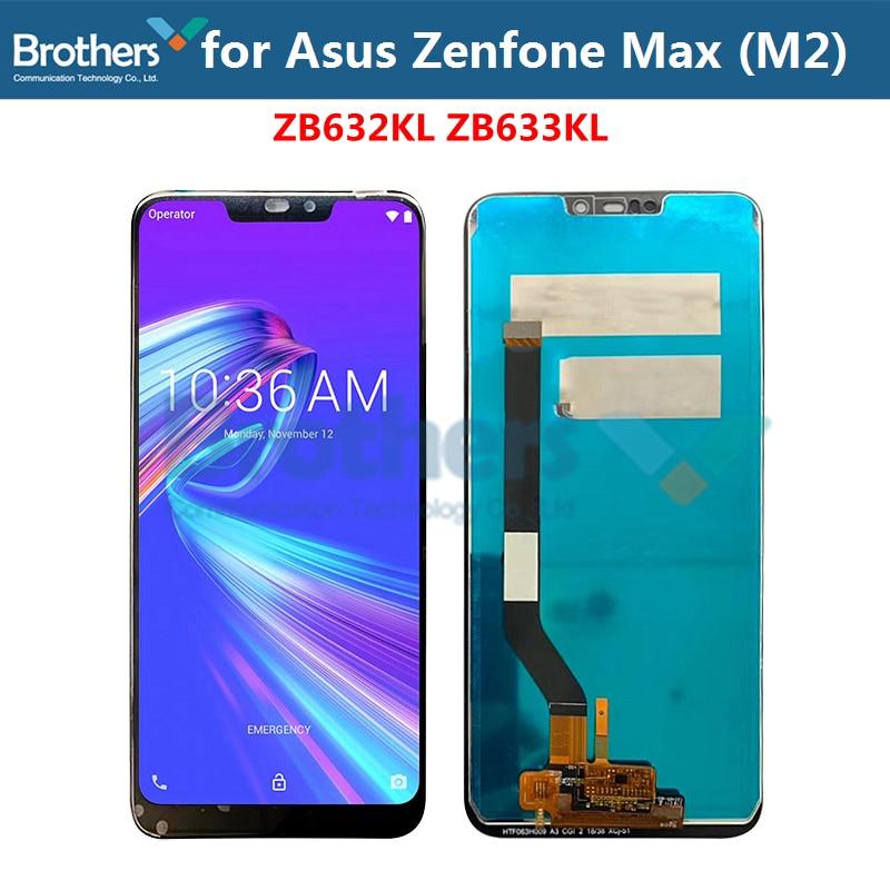 Ecran LCD pour Asus Zenfone Max (M2) ecran LCD ecran tactile numériseur pour Asus ZB633KL ZB632KL ecran LCD 6.26 ''remplacement