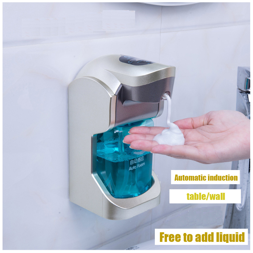Automatic Soap Dispenser Touchless Induction Hand Washing Liquid Bottle Taiwan Hanging Intelligent Foam Hand Sanitizer Machine 300ml automatic liquid soap dispenser 5 mode adjustable touchless sanitizer smart sensor hand washing machine for hotel bathroom