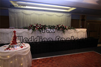Все чисто белый цвет красивый вид сценический занавес \ свадебный фон для украшения вечерние со светодио дный подсветкой