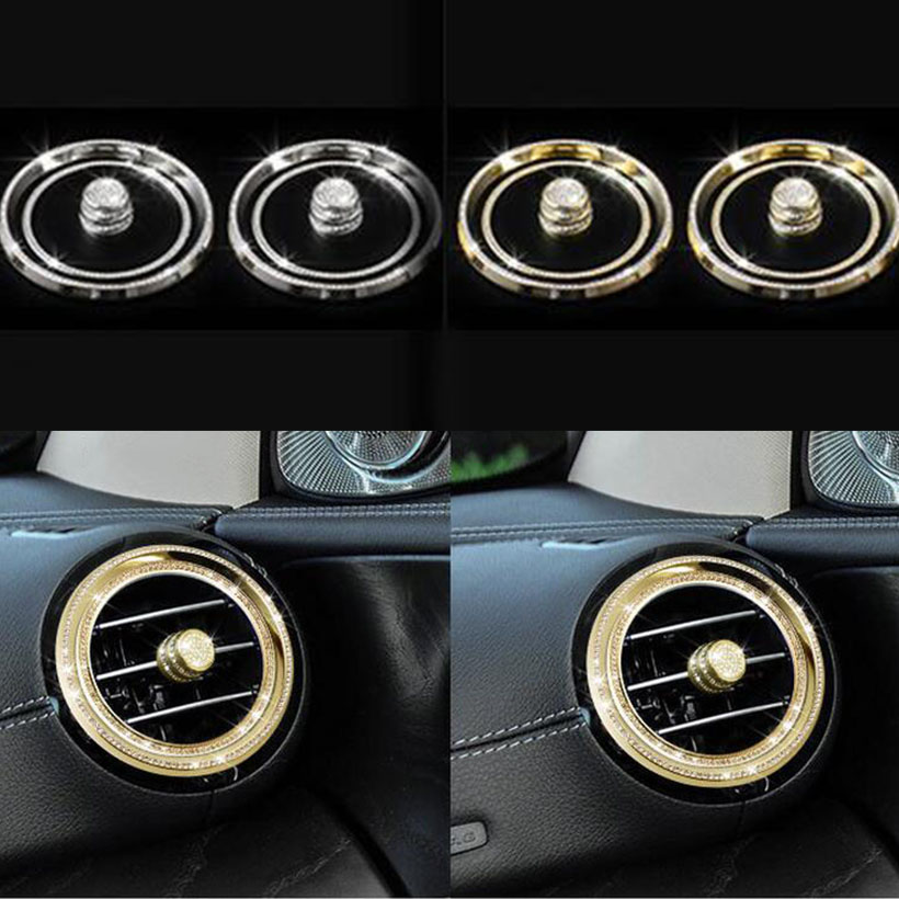 For Mercedes-Benz E Class W213 2017 6pcs Air Condition Outlet Cover Trim Car Accessories car front fog lamps cover grille slats car fog lights cover decoration strips car styling for mercedes benz e class w213 2016