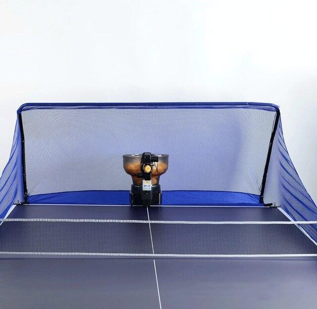 9cf8f474d Robô de tênis de Mesa Tênis de Mesa Bola Captura Net servir máquina Original  receber Reciclagem