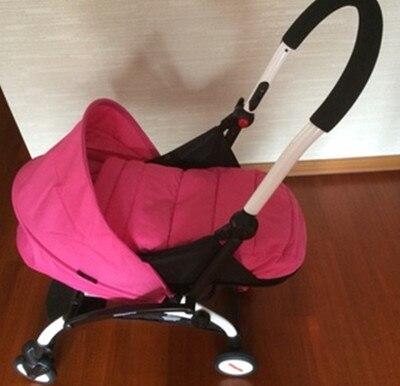Сверхлегкая коляска, со спальным мешком 5 цветов из хлопка для новорожденного, коляска со спальным мешком, аксессуары