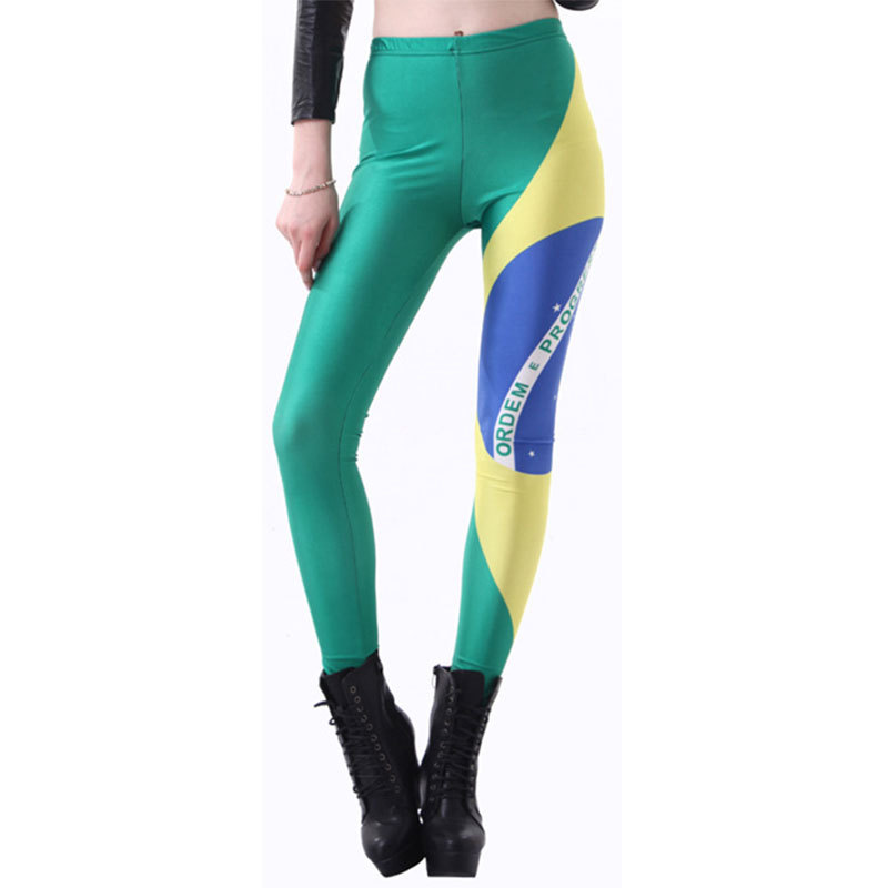 Brazil Flag Women Legging Womens Leggings Jeggings Women Pants Sexy Legging Pant Sexy Printed Leggings 070717