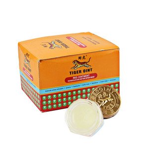 Image 1 - 12pcs White Tiger Balm Massage Paste 100% Original for Muscle Pain Relief Balm  Dizziness Essential Balm Wholesale