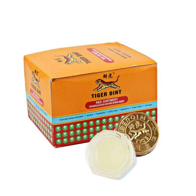 12pcs White Tiger Balm Massage Paste 100% Original for Muscle Pain Relief Balm  Dizziness Essential Balm Wholesale