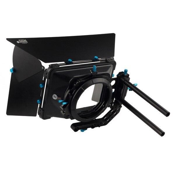 FOTGA DP3000 Pro DSLR swing away matte box sunshade w/ donuts for DSLR 5DIII 1DS F55 F3 A7S C300 C100 BMCC 15mm rod rig