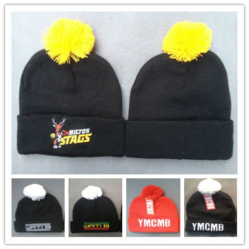 fe4c6a37b5730 ... beanie black red 0e755 a9b89  ireland wholesale hip hop hat wati b  beanies with pom cool men skullies cotton knitted hat