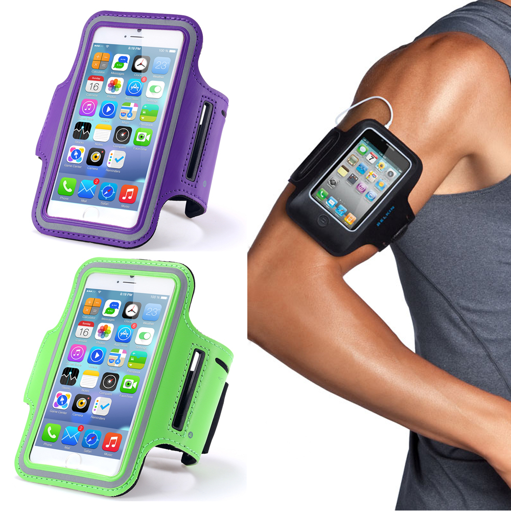 buy popular 7de6d bb87e Mzxtby Universal 5.5 inch Waterproof Sport Gym Running Armband For ...