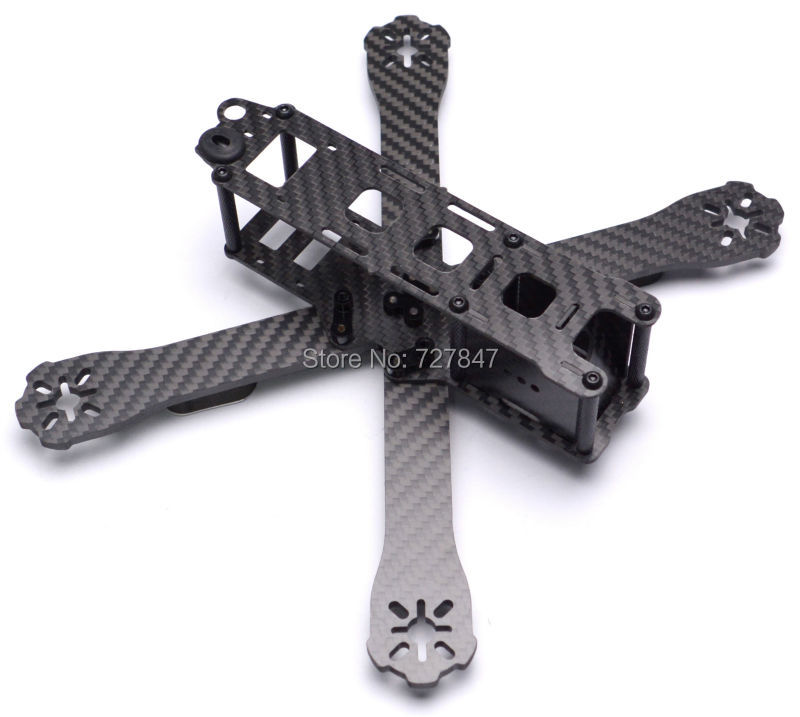 QAV-R 220 220mm / 180mm 4mm Arm DIY mini drone cross racing quadcopter FPV QAV-R 220 mm / 180 mm pure carbon fiber frame