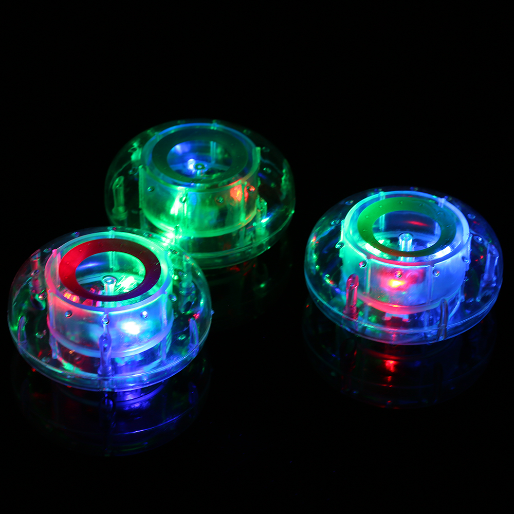 2018 New Stunning Floating Underwater LED Disco Light Glow Show Swimming Pool Hot Tub Spa Lamp Advanced Design