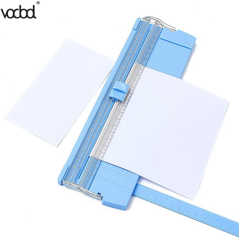 A4/A5 Precision Paper Photo Trimmers Cutters Guillotine With Pull-out Ruler For Photo Labels Paper Cutting Tool Durable Hot Sale