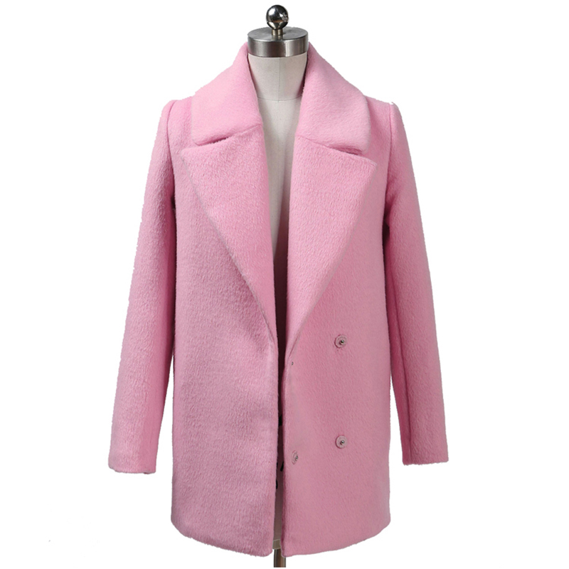 Popular Pink Ladies Coats-Buy Cheap Pink Ladies Coats lots from ...