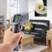 Cheaper High Quality MS6530 Handheld Temperature Gun Non-Contact Digital Infrared Thermometer LCD