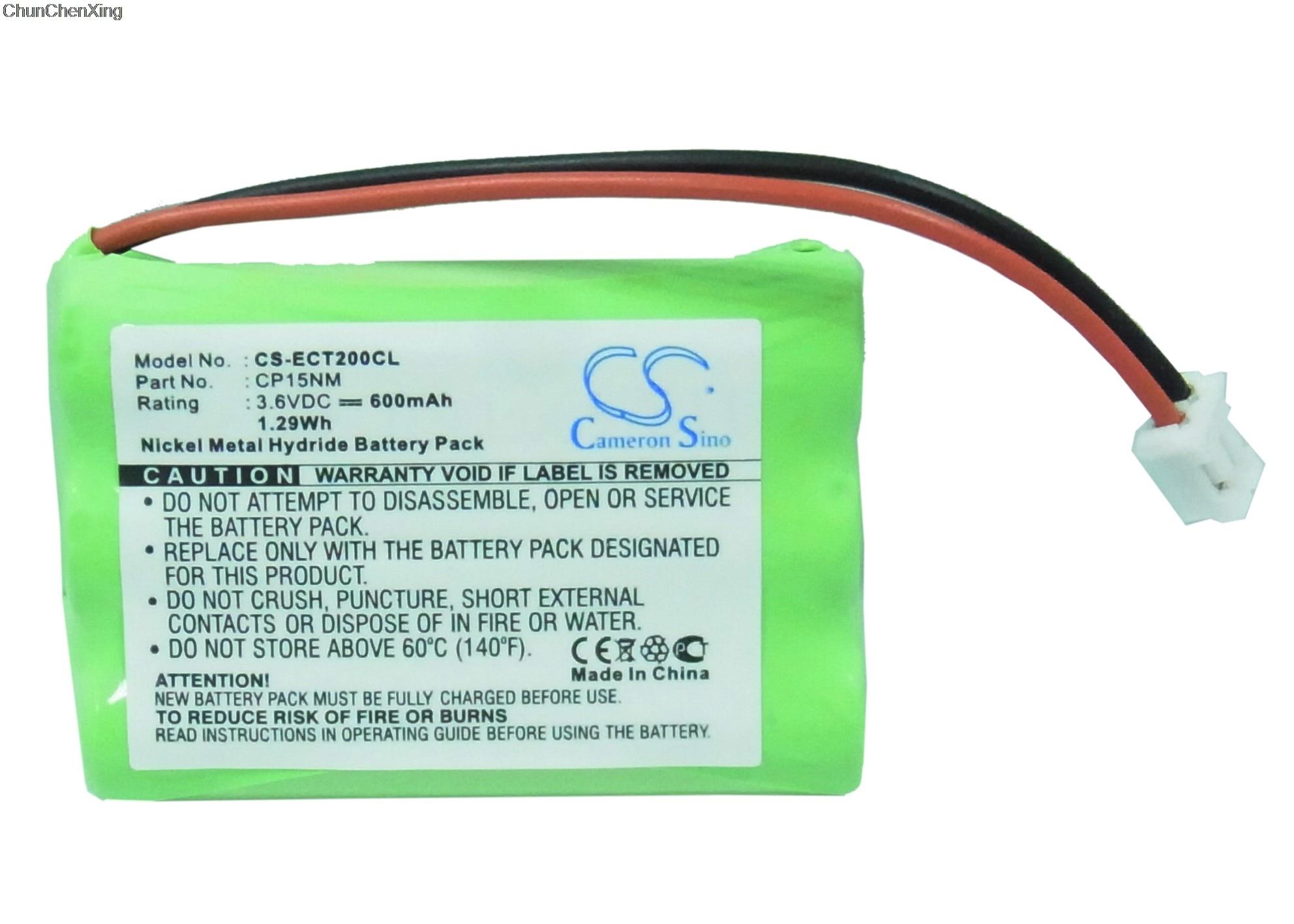 Аккумулятор Cameron Sino 600 мАч для Alcatel Comfort, Easy, EASY S, M-S, Altiset Pro, PRO-I, S, S GAP, Voice, MS, Voice M, Bilboa 570
