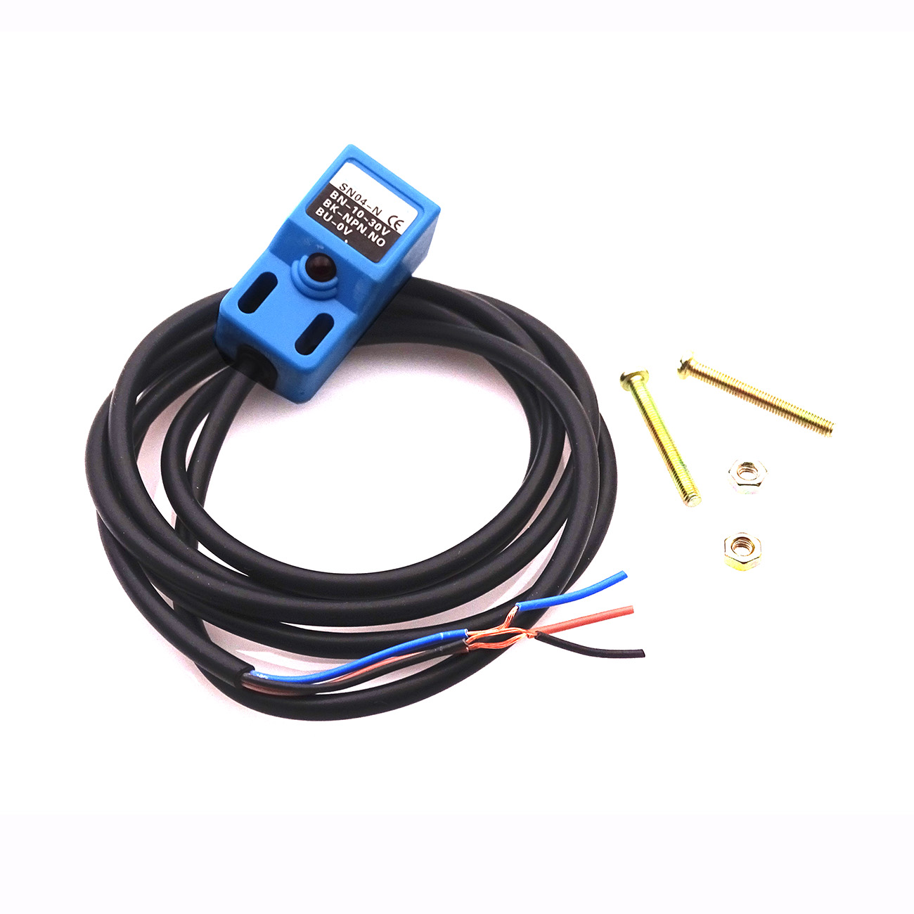 1pcs Sn04 N 4mm Inductive Proximity Sensor Detection Switch Npn No Html On Circuit Dc 10 30v Metal 3 Wire In Integrated Circuits From Electronic Components